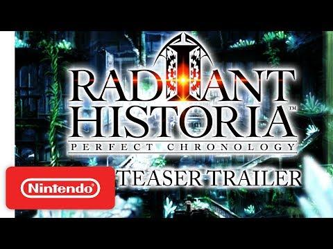 Radiant Historia: Perfect Chronology (Nintendo 3DS) | 'Return to a Legendary Classic' Teaser Trailer thumbnail