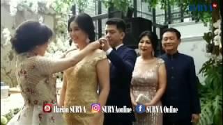Saat Mantan Puteri Indonesia Lamaran, Lihat Mewahnya Gaun yang Dipakainya