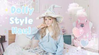 ♡ Blue DevilInspired Kawaii Fashion Try-On Haul ♡