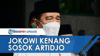 Jokowi Kenang Sosok Artidjo Alkostar, Penegak Hukum Jujur dan Punya Integritas Tinggi