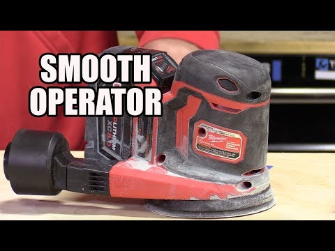 M18 18-Volt Lithium-Ion Cordless 5 in. Random Orbit Sander – 2648 review