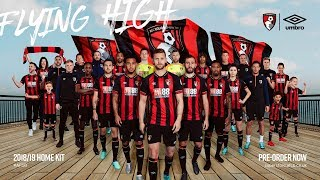 AFC Bournemouth Kit Release Shoot