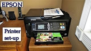 How To Setup Your Epson Printer - Learn To Print, Scan, Copy & Send A Fax Today