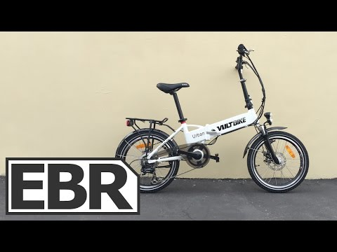 VoltBike Urban Video Review – Inexpensive Folding Electric Bike