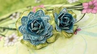 EZ tips to creating Stamped Paper Floral Corsages and Bouquets