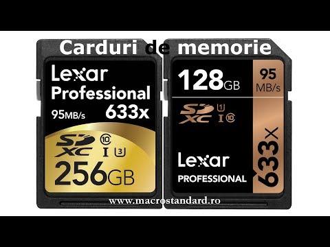 Carduri de memorie Lexar Professional SDXC 633X CLS10 UHS I
