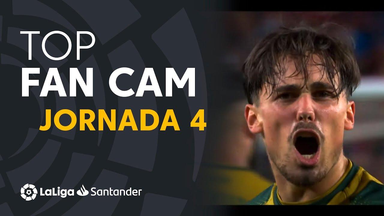 LaLiga Fan Cam Jornada 4: Gonçalo Guedes, Sergio Canales & Camavinga