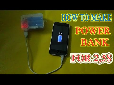 Make A Power Bank From Battery Laptop Old for 2,5$