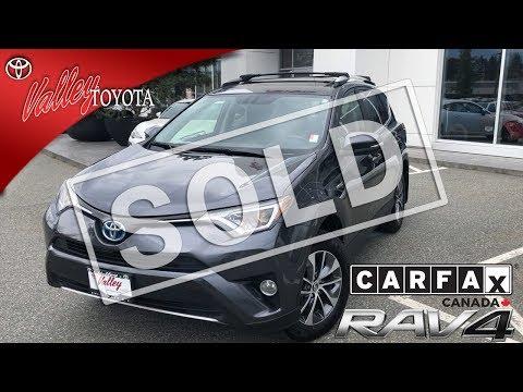 Certified Pre-Owned 2016 Toyota RAV4 Hybrid XLE