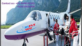 Hifly ICU Air Ambulance Services from Patna to Delhi  At a Low Price.