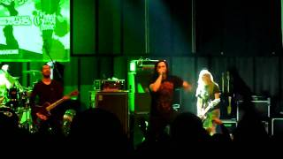 As Blood Runs Black - Strife (Chug Chug) - Live @ Never Say Die Tour 09, Ljubljana