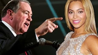 Huckabee Has No Regrets Over Beyonce Comments