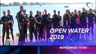 Великий Новгород впервые принял участников этапа Кубка Чемпионов по плаванию на открытой воде