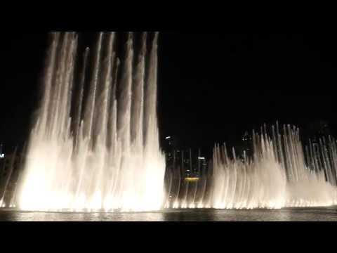 The Dubai Fountain: