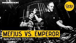 Mefjus VS. Emperor - Imagination Festival 2014 [DnBPortal.com]