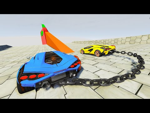 High Speed Jumps #57 - Oddly Satisfying Car Crashes (BeamNG Drive)