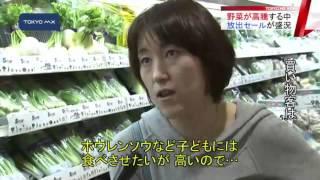 野菜の価格上昇の中野菜セールが盛況!