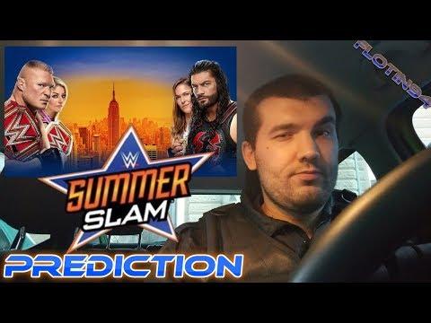 Předpověď WWE SUMMERSLAM 2018 | FloTin