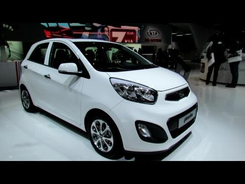 2013 KIA Picanto - Exterior and Interior Walkaround - 2012 Paris Auto Show