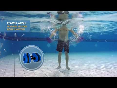 Aqua RückenFit mit Aqua Hantel Training