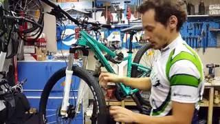 Видео: Правка тормозных дисков на велосипеде