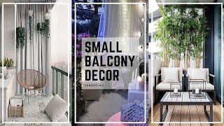 SMALL BALCONY DECOR TIPS | TOP 9 DECORATING IDEAS
