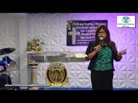 """The purpose of Palm Sunday"" with Rev. Farida Doodnauth"
