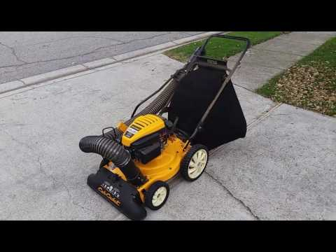 Cub Cadet CSV 050 demonstration