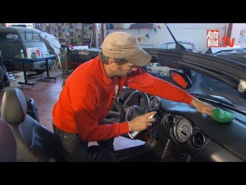 AUTO BILD-Pflegetipps - Innenreinigung