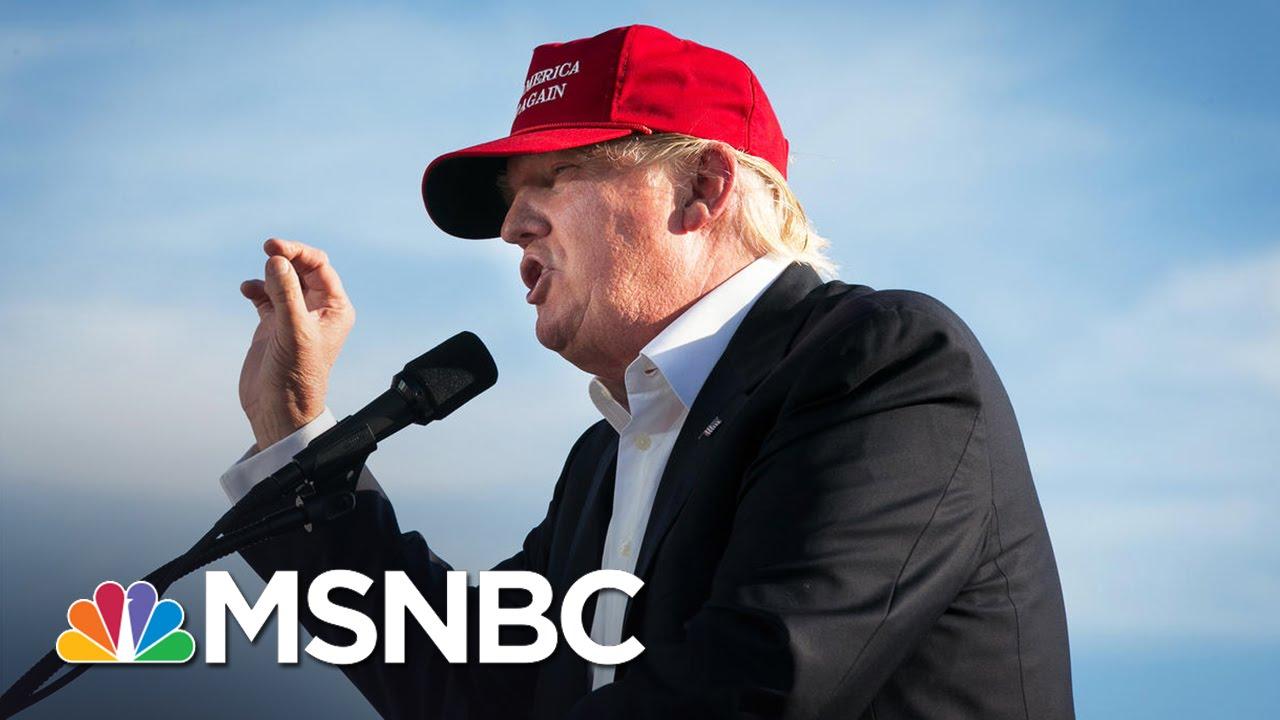 Donald Trump: Elizabeth Warren A 'Racist' And A 'Fraud' | MSNBC thumbnail