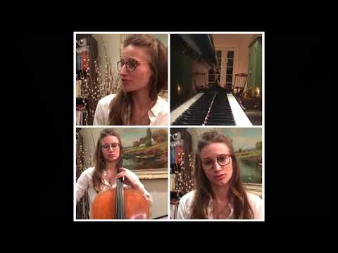 Cello, voice, and piano cover of Such Great Heights by the Postal Service