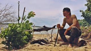 ติดเกาะร้าง กลางทะเล เอาชีวิตรอด - dooclip.me