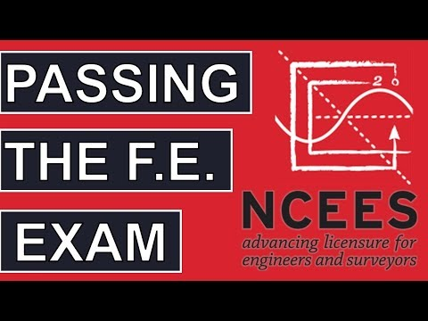 Easily Passing the FE Exam [Fundamentals of Engineering Success ...