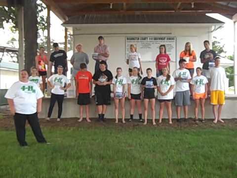 Washington County 4-H Ice Bucket Challenge