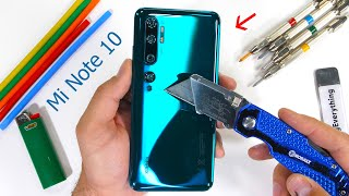 Xiaomi Mi Note 10 Durability Test - 5 cameras for under $500?