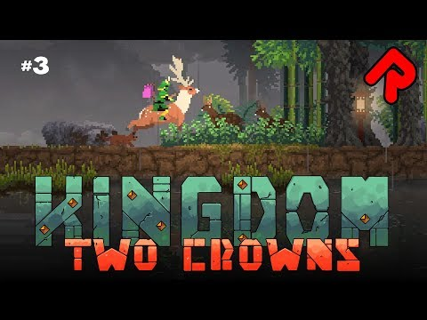 Mounting the Giant Stag! | KINGDOM TWO CROWNS gameplay #3 (Shogun DLC)
