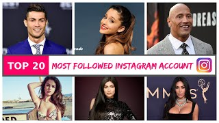 Top 20 Most Followed Instagram Accounts In World 2020