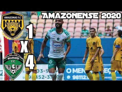 Amazonas FC 1x4 Manaus FC