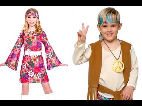 Disfraces Hippie para niños