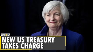 Janet Yellen takes charge at US Treasury | Biden, Yellen push for mega relief package | English News