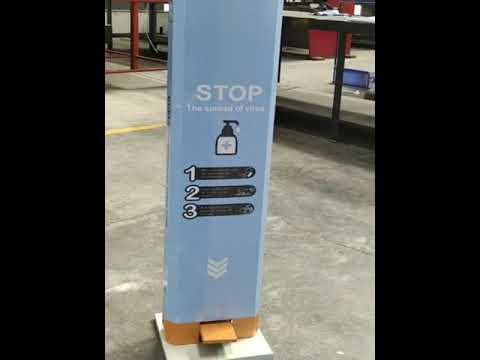 Designer Foot Operated Sanitiser Dispenser