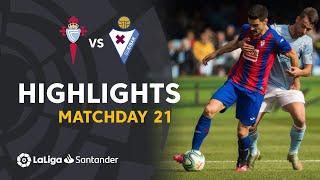 Highlights RC Celta vs SD Eibar (0-0)