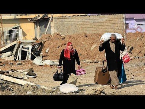 Ιράκ: Εγκαταλείπουν την Μοσούλη λόγω των μαχών