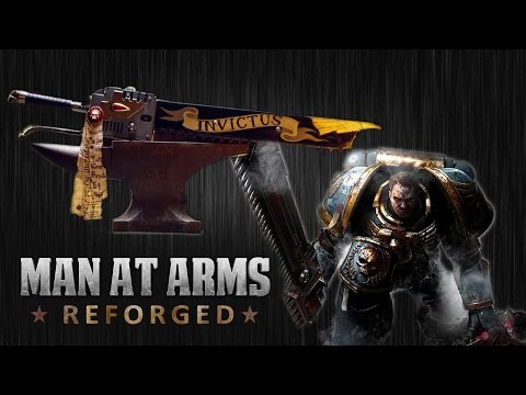 By The Emperor, Someone Made A Working Warhammer 40kChainsword
