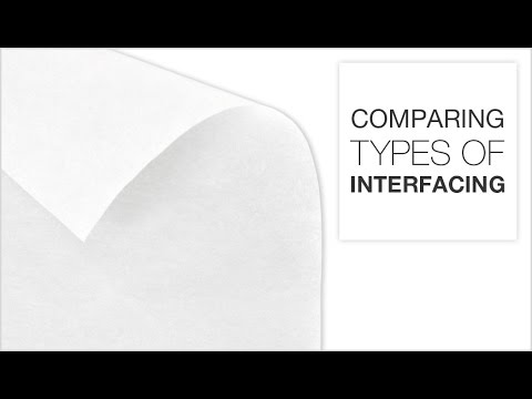 Comparing Different Types of Interfacing