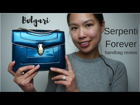 bvlgari serpenti forever small handbag review
