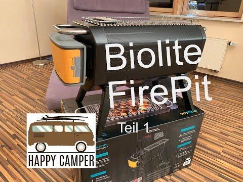 BioLite FirePit - rauchfreie Grill- und Feuerstelle - Teil 1 (Folge 70)