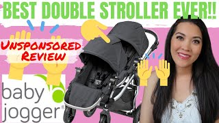 CITY SELECT DOUBLE STROLLER BY BABY JOGGER   Best Double Stroller for Twins   HONEST REVIEW