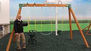 Classic Kids Swing Set