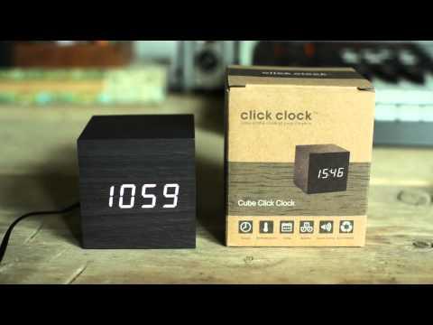 Gingko - Cube Click Clock - Alarm Sound